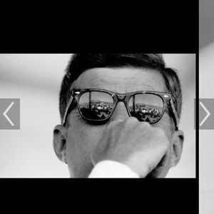 Authentic Vintage Classic Ray-Ban Worn by JFK